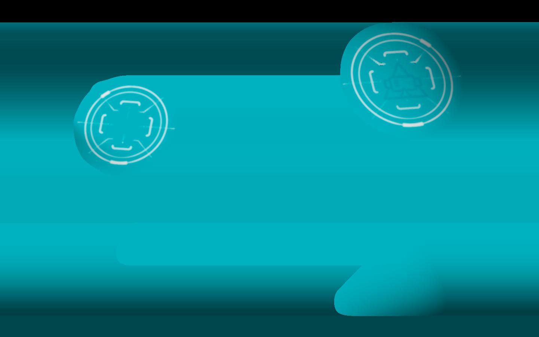 Background Circle Teal